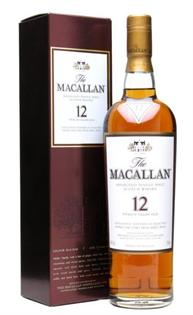 The Macallan Scotch Single Malt 12 Year 750ml